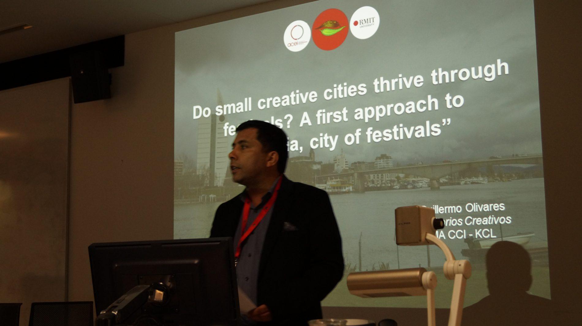 Participamos en conferencia internacional en Australia