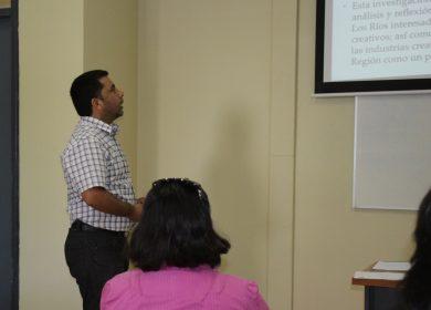 En conferencia internacional sobre emprendimiento cultural